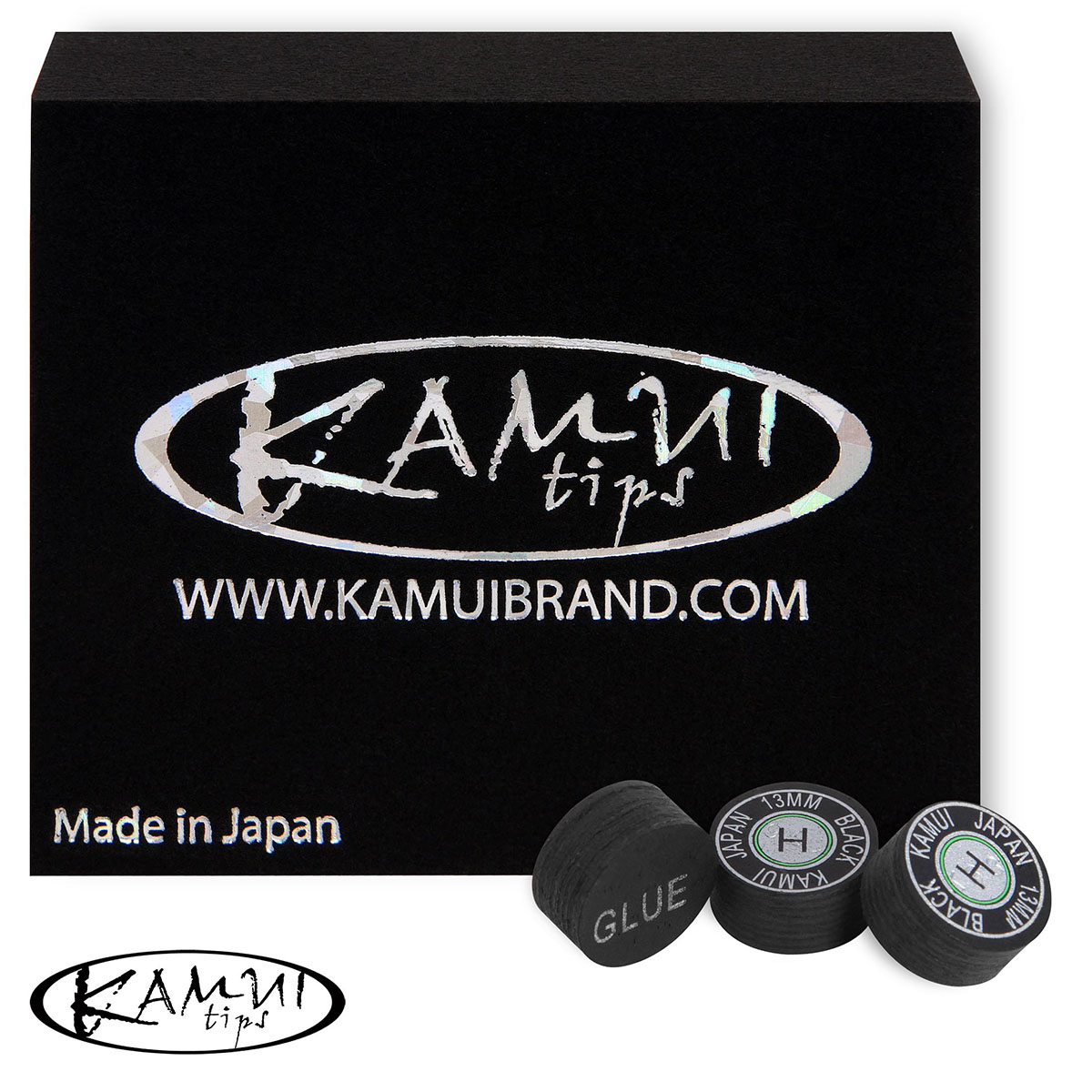 Наклейки Kamui Black Hard 13мм