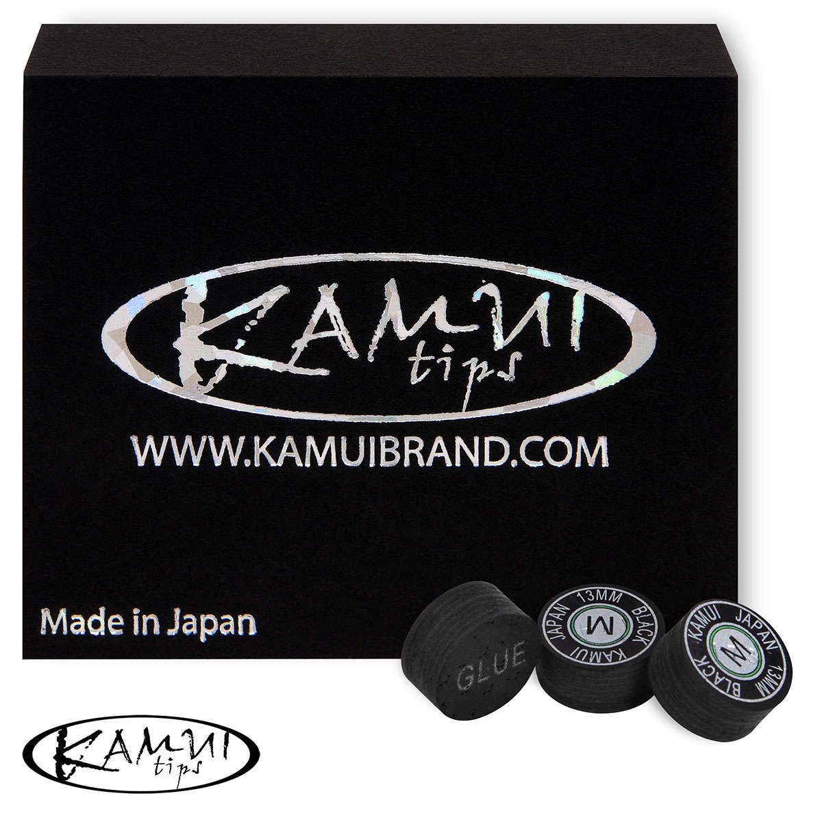 Наклейки Kamui Black Medium 13мм