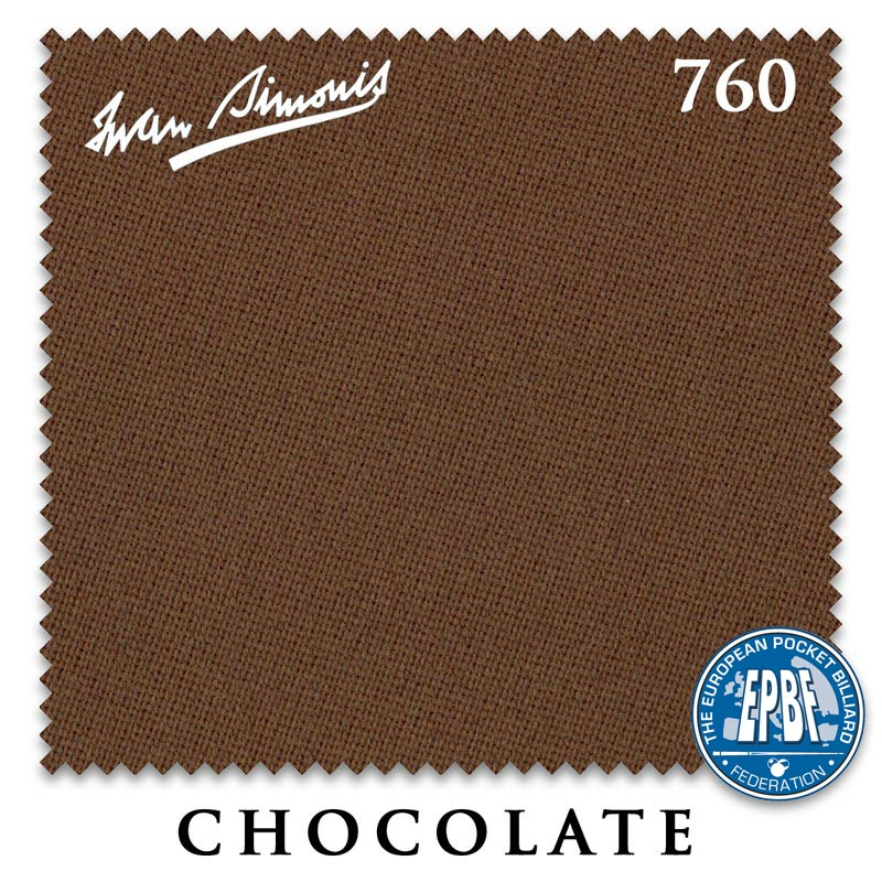 Сукно Iwan Simonis 760 Chocolate