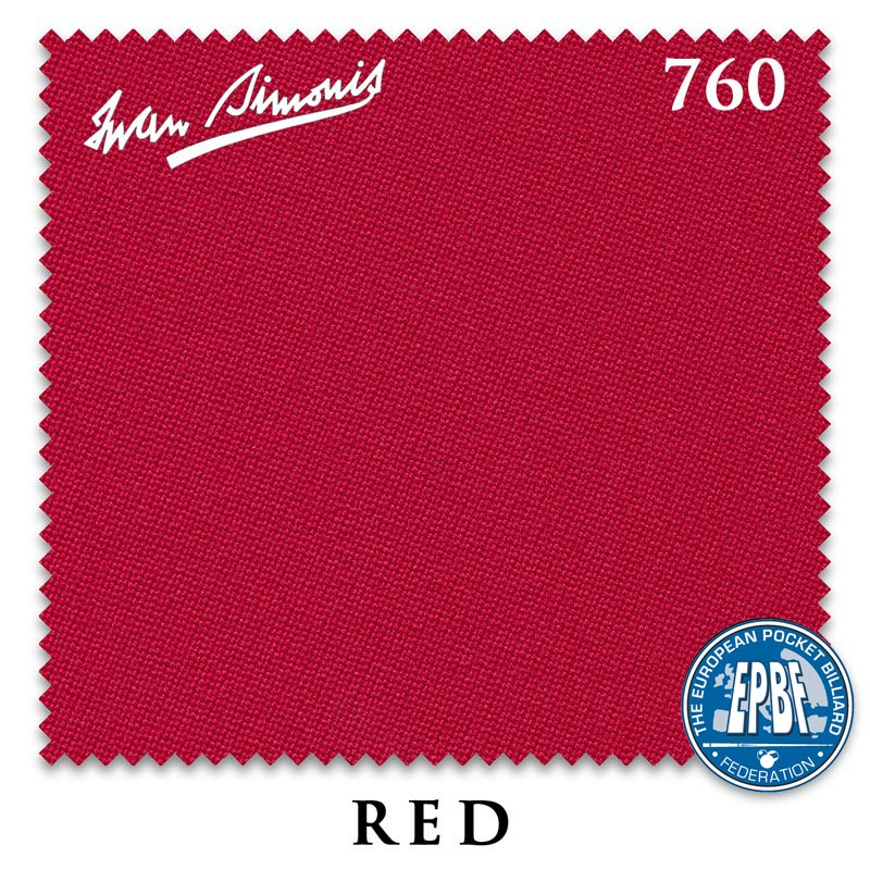 Сукно Iwan Simonis 760 Red