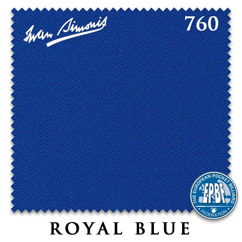 Сукно Iwan Simonis 760 Royal Blue
